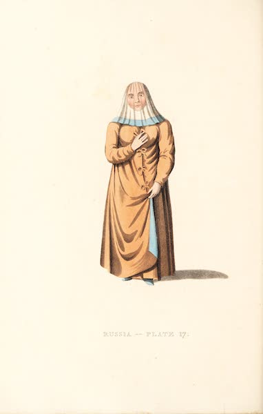 Picturesque Representations of the Russians - A Female Ostiak (1814)