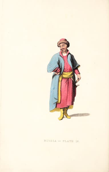 Picturesque Representations of the Russians - A Tartar of Kazan (1814)