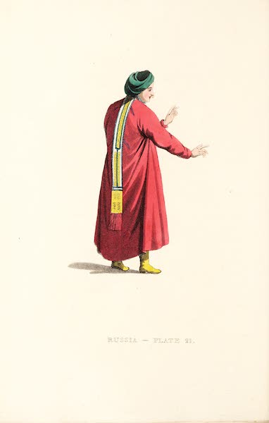 Picturesque Representations of the Russians - A Female Tartar of the Nagai Tribe (1814)
