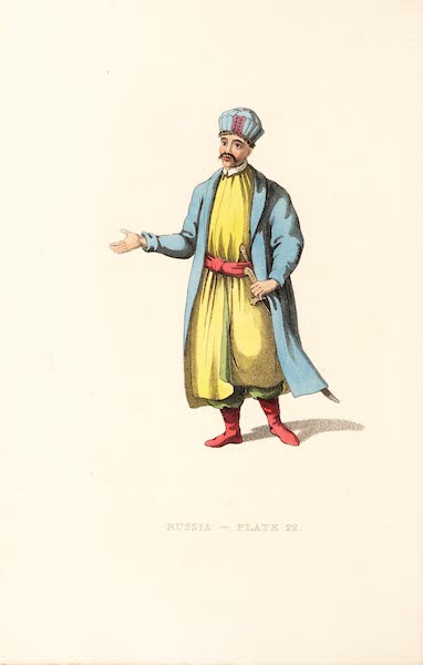 Picturesque Representations of the Russians - A Kabardinian (1814)
