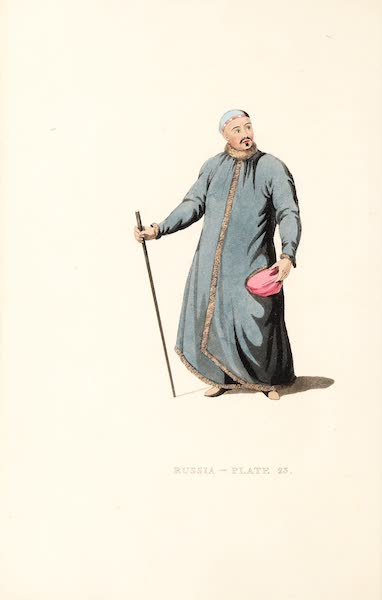 Picturesque Representations of the Russians - A Boukharian of Siberia (1814)