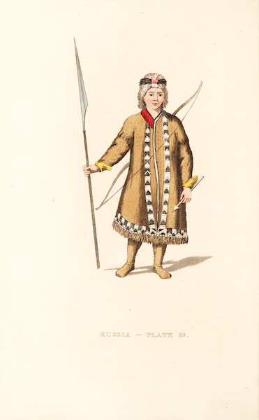 Picturesque Representations of the Russians - A Yakouti Tartar (1814)