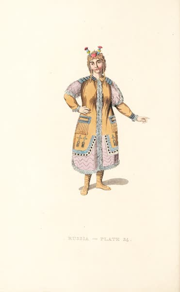Picturesque Representations of the Russians - A Female Yakouti (1814)