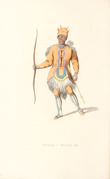 Picturesque Representations of the Russians - A Tungoose (1814)