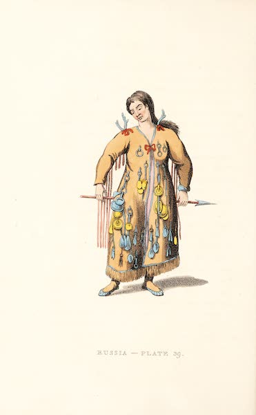 Picturesque Representations of the Russians - A Schaman of the Tungoosi (1814)