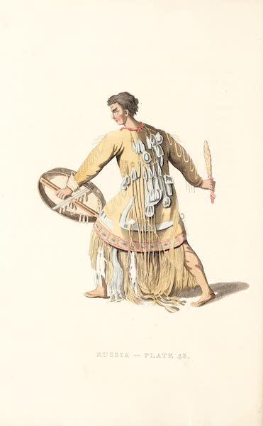 Picturesque Representations of the Russians - A Schaman of Kamtshatka (1814)