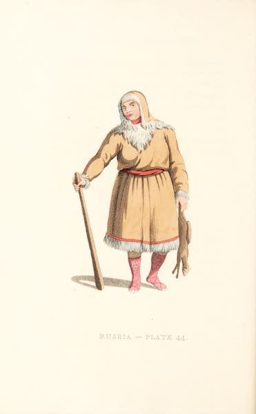 Picturesque Representations of the Russians - A Koriak (1814)