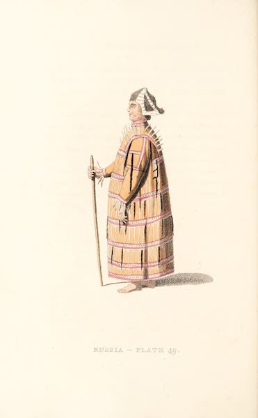 Picturesque Representations of the Russians - An Aleutian (1814)