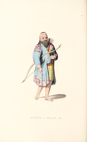 Picturesque Representations of the Russians - A Kurilian (1814)