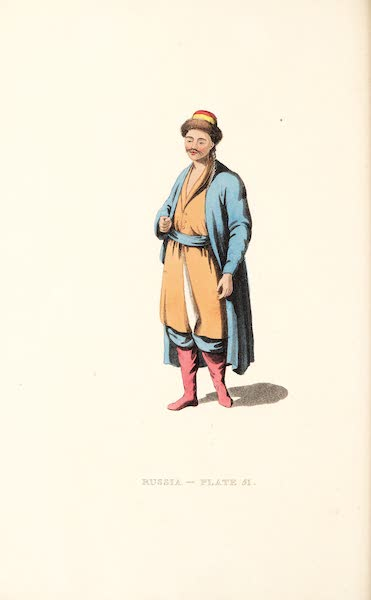 Picturesque Representations of the Russians - A Kalmuk (1814)