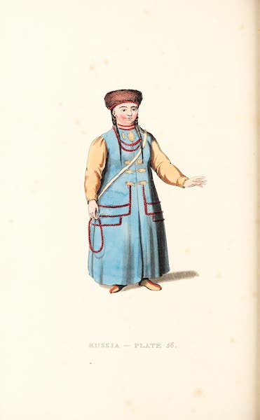 Picturesque Representations of the Russians - A Mongole Woman (1814)