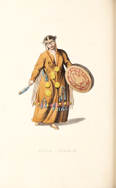 Picturesque Representations of the Russians - A Mongole Schaman (1814)