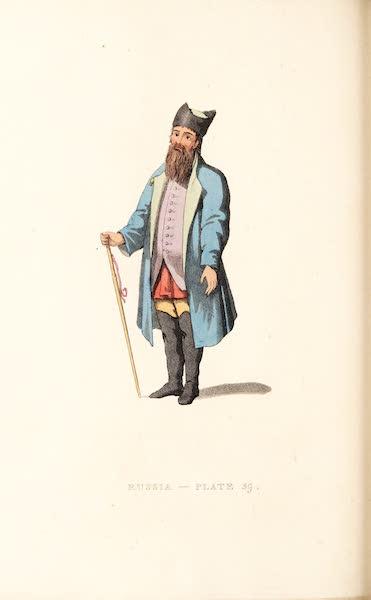 Picturesque Representations of the Russians - A Merchant of Kalouga (1814)