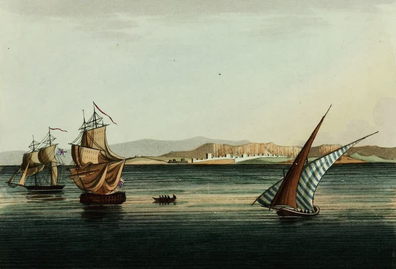Picturesque Scenery in the Holy Land and Syria - Caesaria (1823)