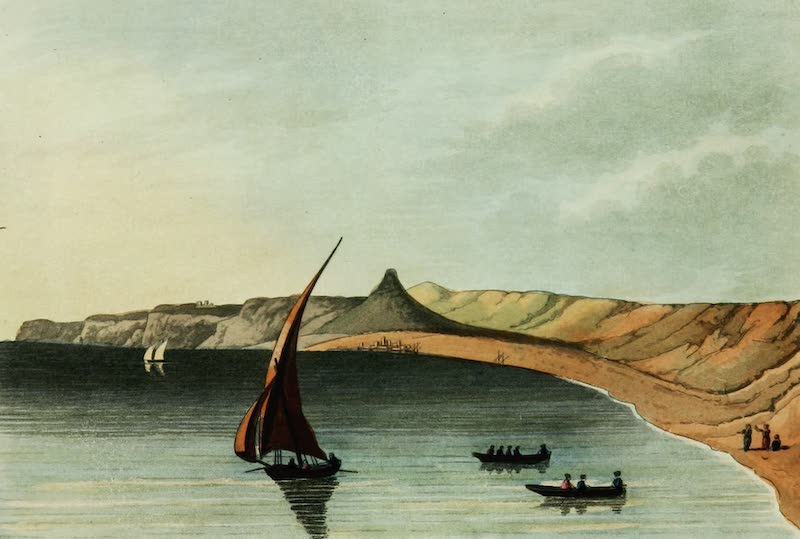 Picturesque Scenery in the Holy Land and Syria - Dede Near Tripoli (1823)