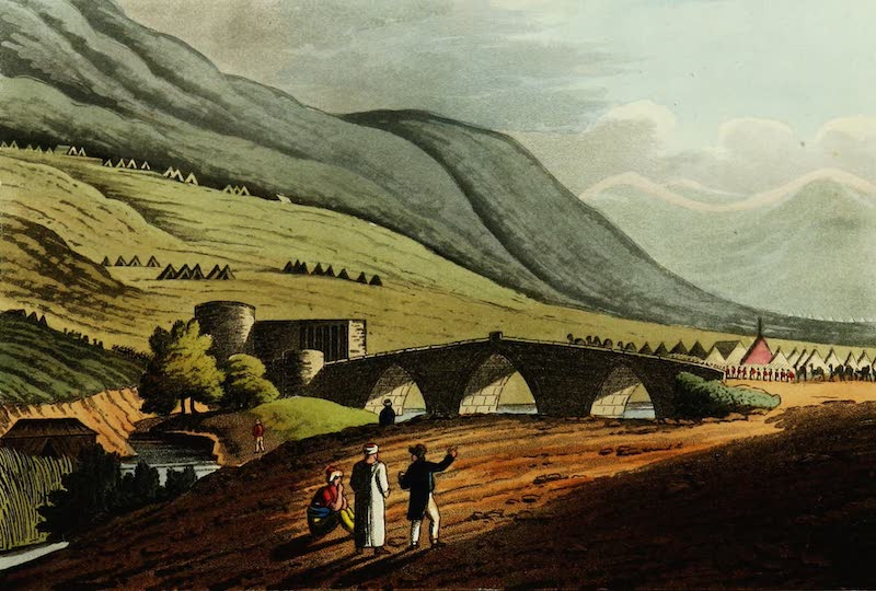 Picturesque Scenery in the Holy Land and Syria - Jacob's Bridge (1823)
