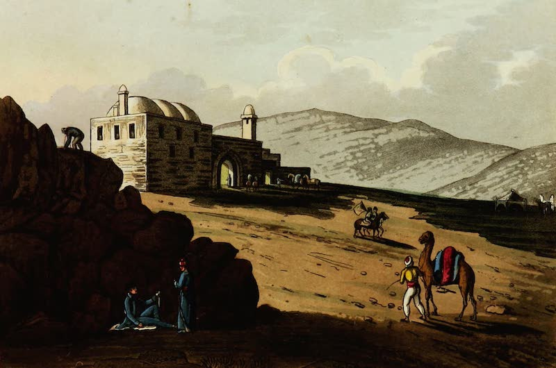 Picturesque Scenery in the Holy Land and Syria - Joseph's Pit and Well (1823)