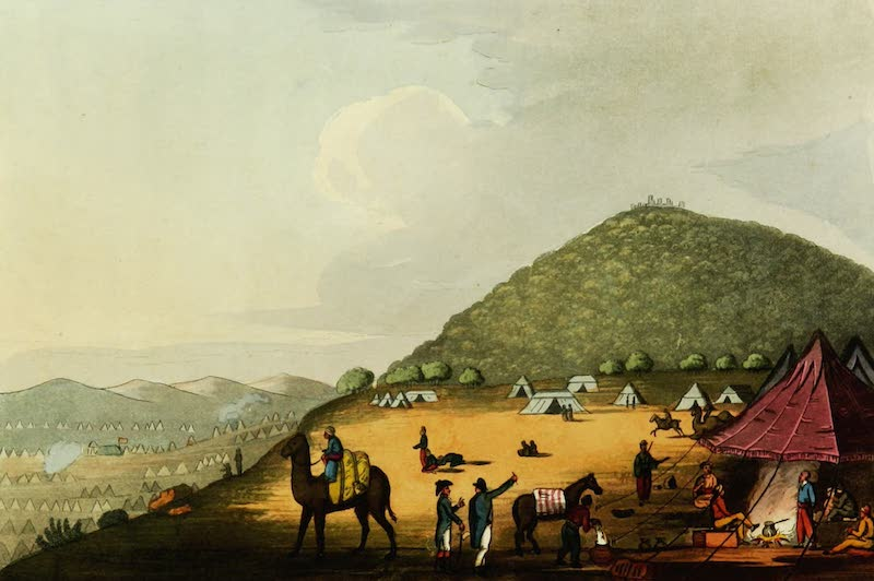 Picturesque Scenery in the Holy Land and Syria - Mount Tabor (1823)