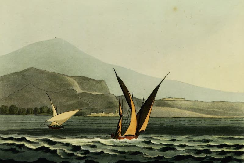 Picturesque Scenery in the Holy Land and Syria - Sidon (1823)