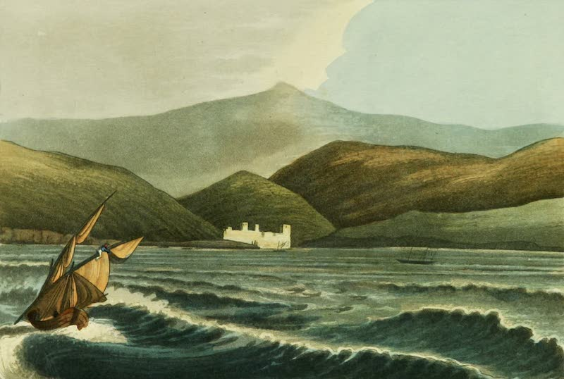 Picturesque Scenery in the Holy Land and Syria - The Pilgrim's Castle (1823)