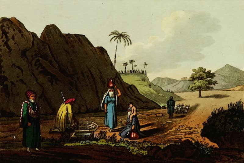 Picturesque Scenery in the Holy Land and Syria - Zeta Near Jaffa in Syria (1823)