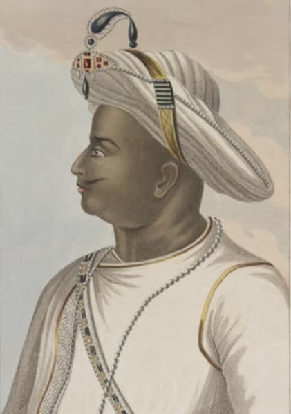 Picturesque Scenery in the Kingdom of Mysore - Tippoo Sultan. From an Original Picture in the Possession of the Marquis Wellesley (1805)