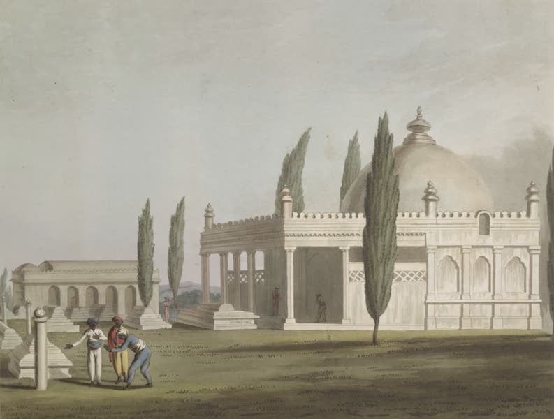 Picturesque Scenery in the Kingdom of Mysore - A Mosque At Seringapatam (1805)