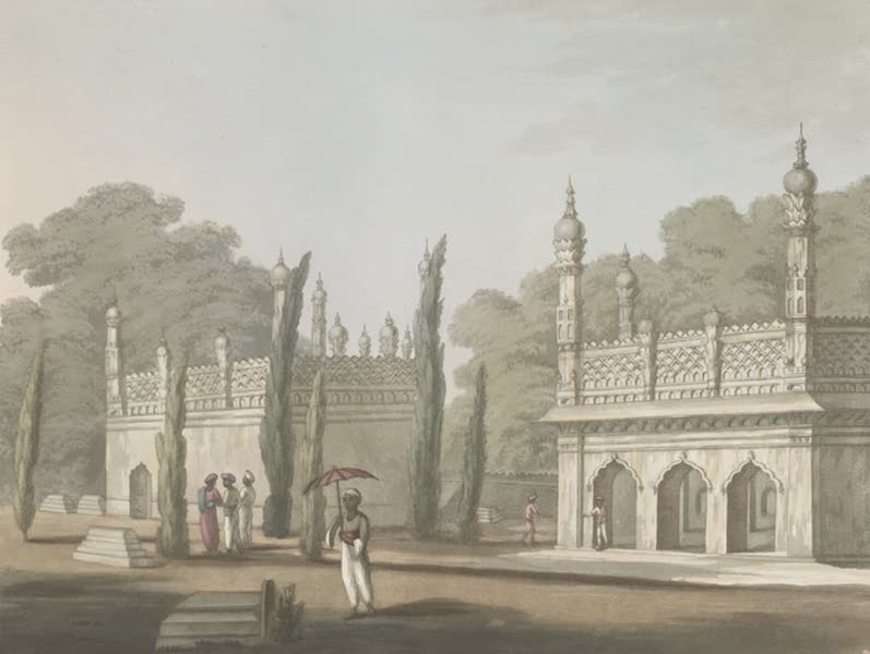 Picturesque Scenery in the Kingdom of Mysore - Hyder Ally Kahn's Own Family Tomb, at Colar (1805)