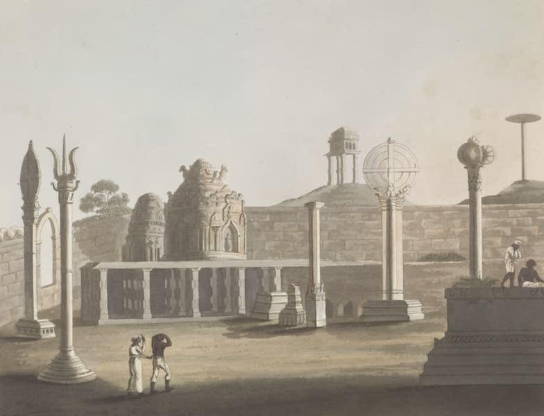 Picturesque Scenery in the Kingdom of Mysore - A Moorish Mosque at Bangalore (1805)