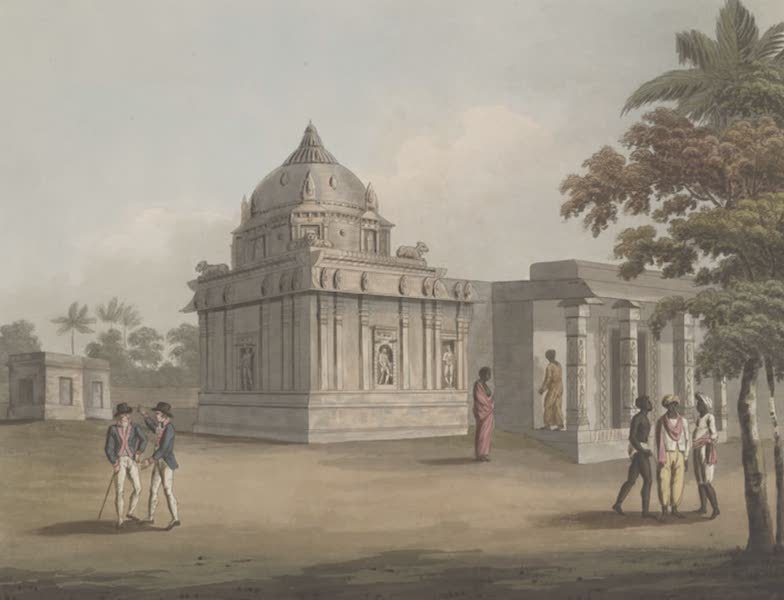 Picturesque Scenery in the Kingdom of Mysore - A Mosque at Struppermador (1805)