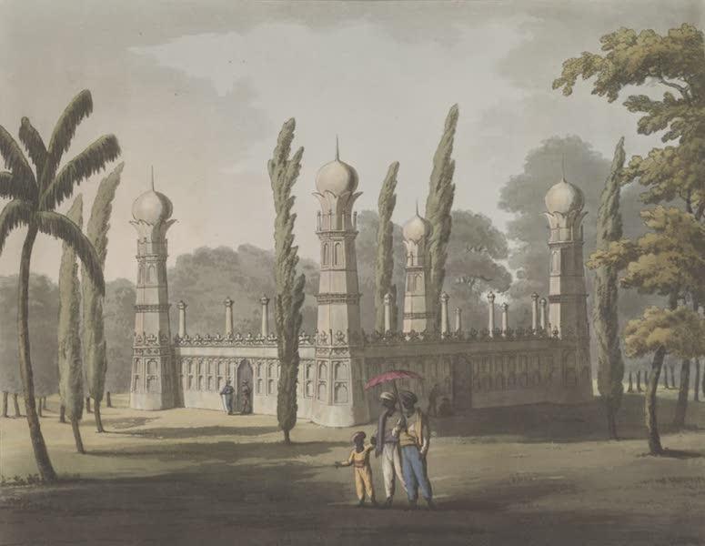 Picturesque Scenery in the Kingdom of Mysore - Killadar's Tomb, Ouscottah (1805)