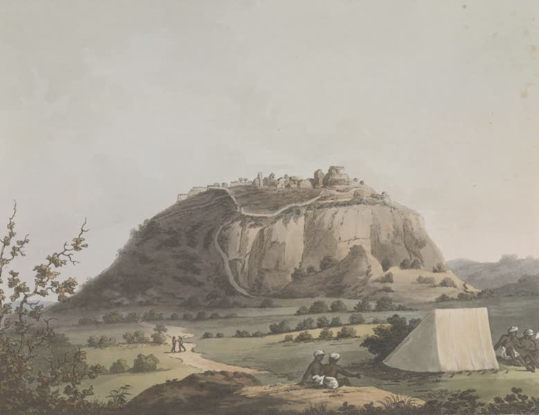 Picturesque Scenery in the Kingdom of Mysore - Kistnaghurry (1805)