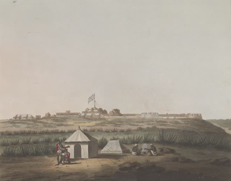 Picturesque Scenery in the Kingdom of Mysore - N.W. Angle of Osar (1805)