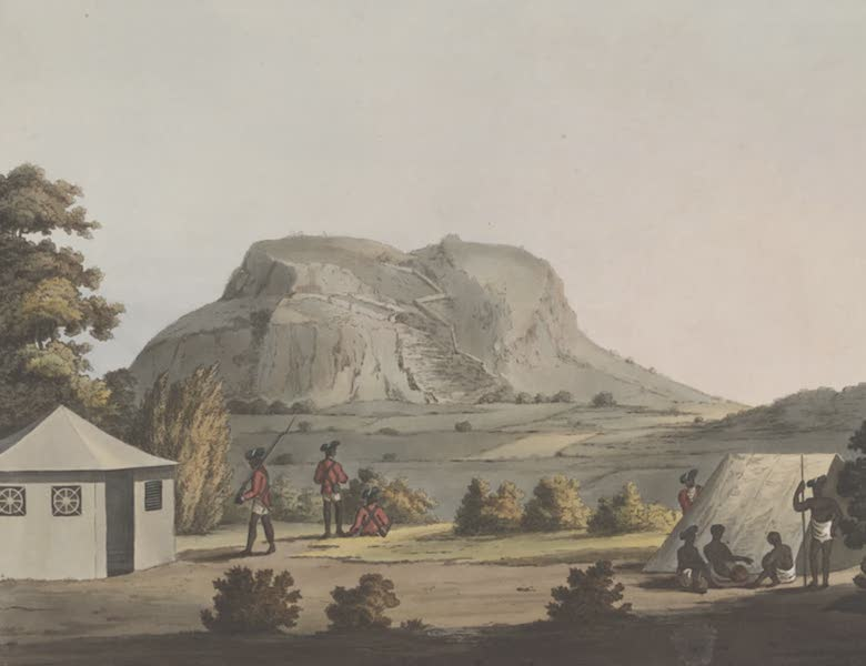 Picturesque Scenery in the Kingdom of Mysore - A View of Outra Droog (1805)