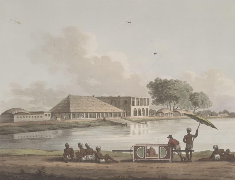 Picturesque Scenery in the Kingdom of Mysore - Commilah, Late the Residence of John Buller, Esqr. (1805)