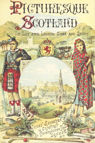 Picturesque Scotland - Illustrated Title Page (1887)