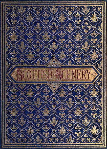 Picturesque Scottish Scenery - Front Cover (1875)