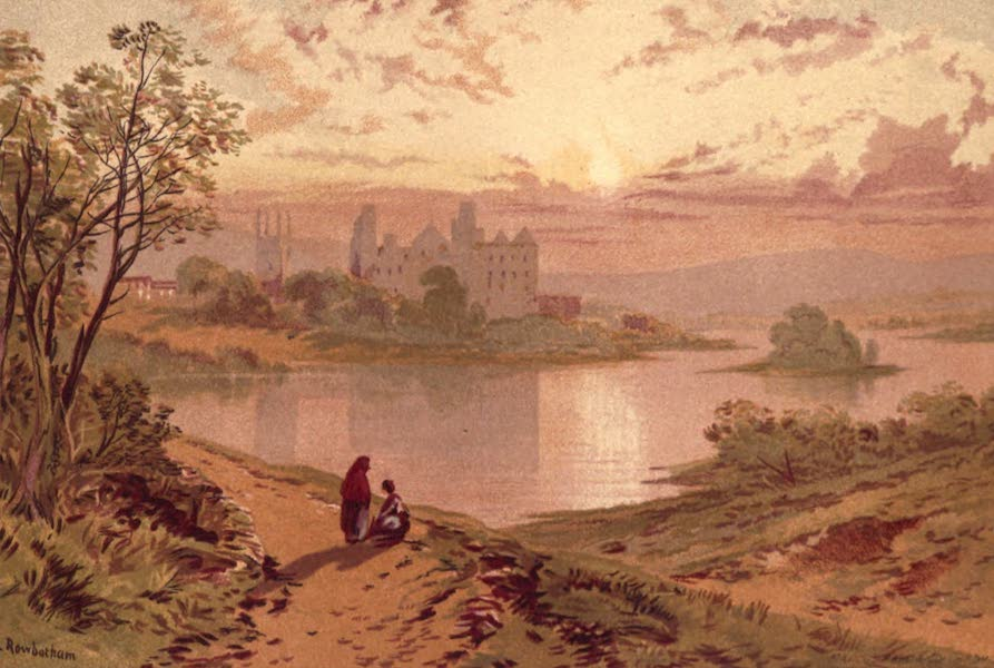 Picturesque Scottish Scenery - Linlithgow Palace (1875)