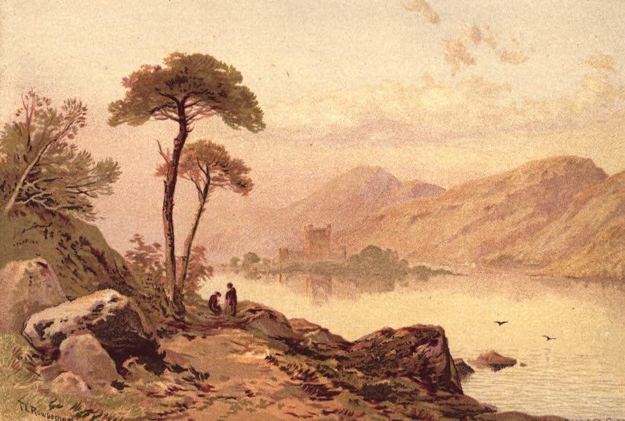Picturesque Scottish Scenery - Lochleven Castle (1875)