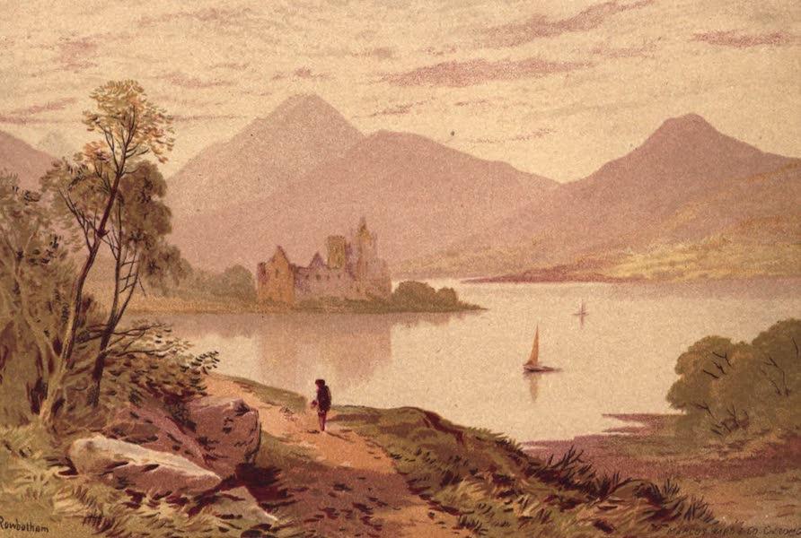 Picturesque Scottish Scenery - Kilchurn Castle, Loch Awe (1875)
