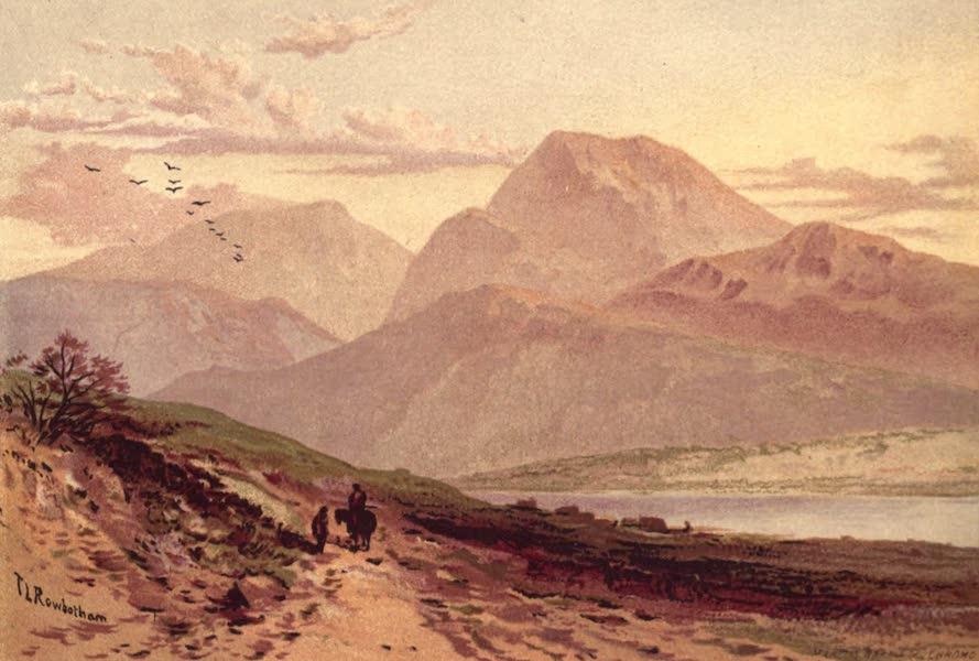 Picturesque Scottish Scenery - Ben Nevis from Bannavie (1875)