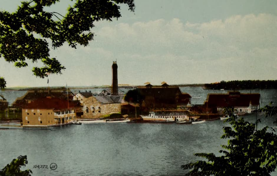 Picturesque Souvenir of Gananoque and Thousand Islands - Boating Club Houses (1910)