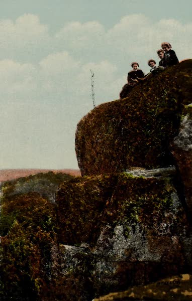 Picturesque Souvenir of Gananoque and Thousand Islands - Top of the Mountain (1910)