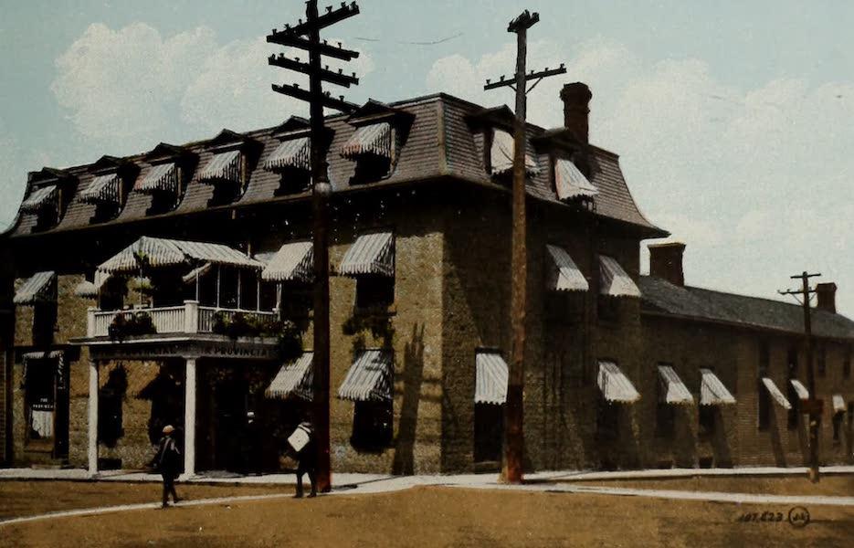 Picturesque Souvenir of Gananoque and Thousand Islands - Provincial Hotel (1910)