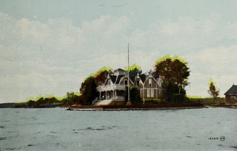 Picturesque Souvenir of Gananoque and Thousand Islands - Idyl Wyld, Thousand Islands (1910)