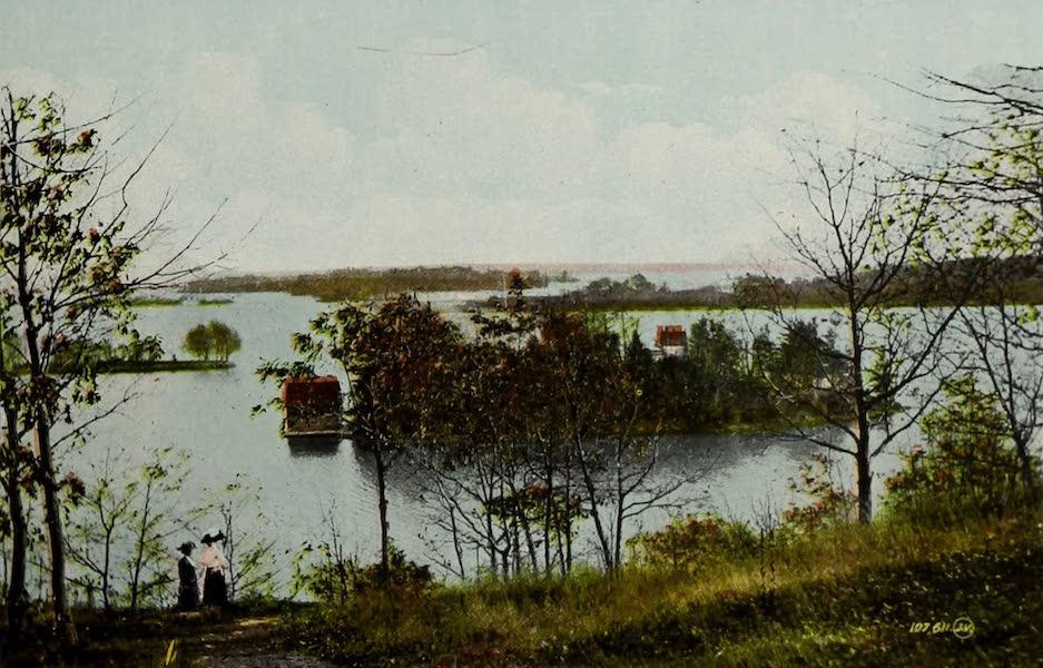 Picturesque Souvenir of Gananoque and Thousand Islands - Cherry Island, Thousand Islands (1910)