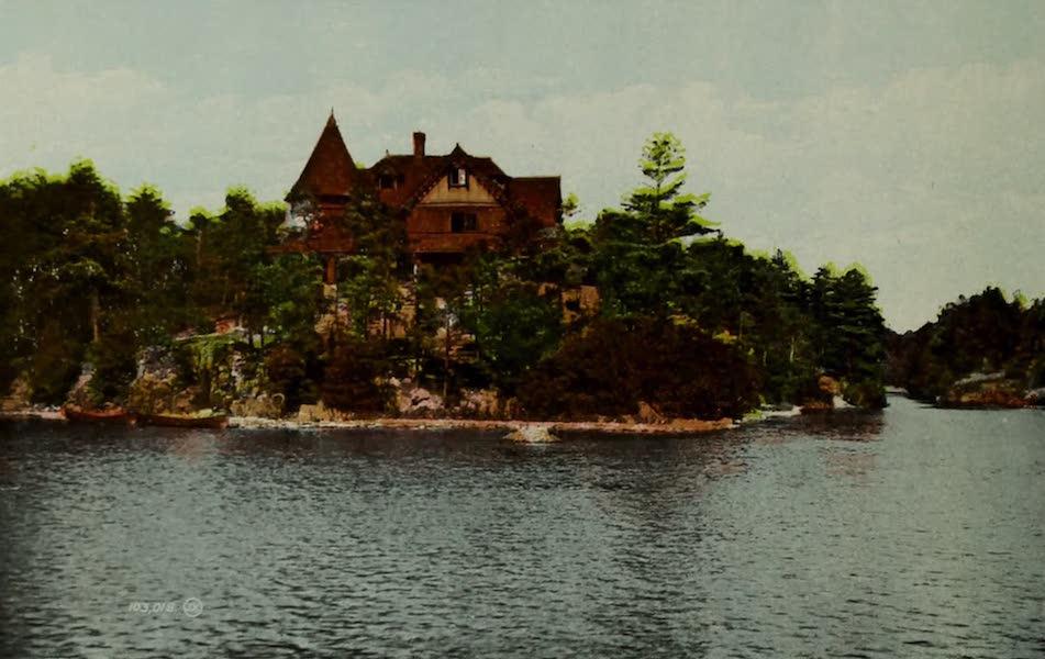 Picturesque Souvenir of Gananoque and Thousand Islands - Mississaqua, Thousand Islands (1910)