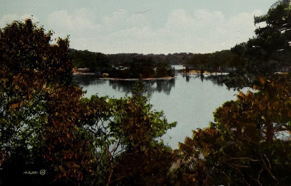 Picturesque Souvenir of Gananoque and Thousand Islands - Among the Thousand Islands, near Gananoque (1910)