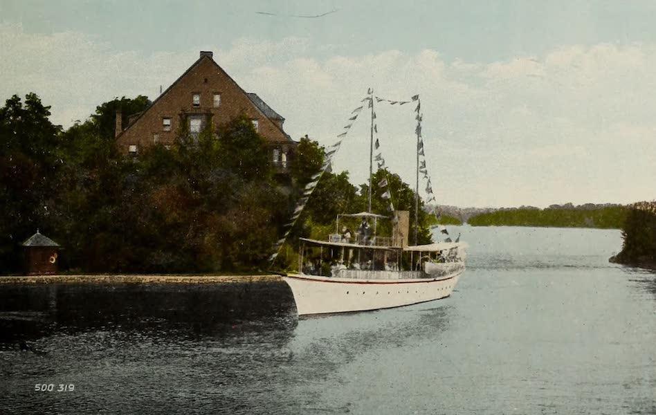 Picturesque Souvenir of Gananoque and Thousand Islands - Echo Lodge, Rockport, Thousand Islands (1910)