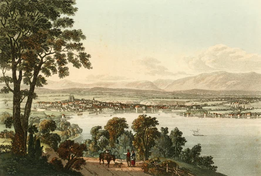 Picturesque Tour from Geneva to Milan - View of Geneva (1820)